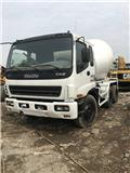 Isuzu 9M3, Concrete/mortar mixers