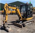 Caterpillar 302.4 D, 2017, Crawler excavators