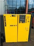 Kaeser – 35PK Schroefcompressor ASD47T + Aanbouwdroger AB, 2007, Compressors