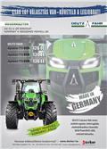 Deutz-Fahr Agrotron TTV 6120-6140, 2017, Traktorok