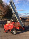 Palax Combi 600 Petrol/PTO Trailed Log Splitter, 1999, Wood splitters, cutters, and chippers