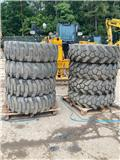 JCB 155, Tyres, wheels and rims