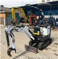 Bobcat E 10, 2016, Mini excavators < 7t (Mini diggers)