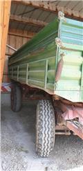 Other SCHENK Ackerwagen Getreideanhänger 12 To 2 Seitenk, Remolques volquete