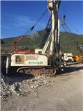 Casagrande c20, 1991, Truck mounted drill rig