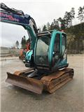 Hitachi ZX 85 US-5, 2016, Mini excavators  7t - 12t