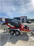 Metalika CM-1500 Mobile Concrete Mixer、2020、加气混凝土生产设备/制砖机