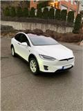 Tesla X75 4WD 524 hp Black leather with ash-wood decor, 2017, Elektriskie transportlīdzekļi