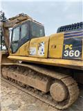 Komatsu PC360、2012、履帶式挖土機(掘鑿機,挖掘機)