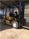Yale GDP25VX, 2011, Diesel Forklifts