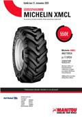 Michelin XMCL 460/70R24, 2020, Tyres, wheels and rims