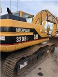 Caterpillar 320 B S, 2001, Excavadoras de cadenas