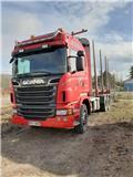 Scania R620 LB6X4, 2012, Log trucks