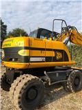 JCB JS 145 W, 2009, Excavadoras de ruedas