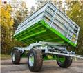 CynkoMet Farm trailer/Przyczepa T-104/6 10T/Remorq, 2018, Прицепи загального призначення