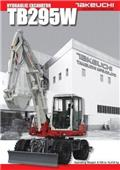 Takeuchi TB295W, 2020, Wheeled Excavators