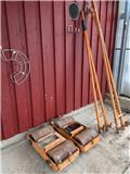 Kranbil släpskor till stödben till kranbil, Other Components