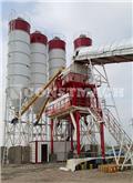 Constmach 160m3/h Stationary Concrete Mixing Plant  For Sale, 2021, Centrais de betão usadas