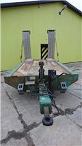 Obermaier Anhänger, Tandemanhänger Obermaier TFP 119, 2000, Low loaders