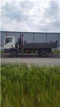 MAN TGM15.280, 2008, Ciężarówki z żurawiem