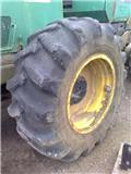 Trelleborg 600 x 34 wheels and tyres, 1996, Tyres, wheels and rims