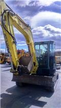 Yanmar Vio 55, 2008, Mini Escavadoras <7t