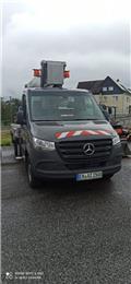 Mercedes-Benz 314 Palfinger P 250 BK، 2020، المنصات الهوائية المثبتة على شاحنة