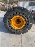 Flexi HPS, Neumáticos, ruedas y llantas