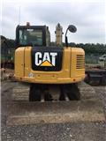 Caterpillar 308 E 2 CR, 2013, Midi excavators  7t - 12t