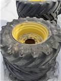 Michelin xeobib 600-30، الإطارات والعجلات والحافات