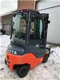Toyota 8 FB ET 18, 2011, Electric Forklifts