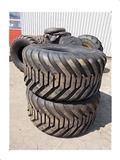 BKT 550/60-22.5/16pr, Däck, hjul och fälgar