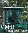 Other Timberjack, John Deere 810, 1110 1410, 1710, Rücks, 2017, Cabins and interior