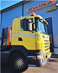 Scania R 500, 2012, Rol kiper kamioni sa kukom za podizanje tereta