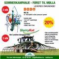 SlurryKat (Sommerkampanje) Slangesprederutstyr, 2017, Gjødselspreder