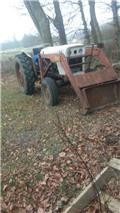 David Brown Med frontlæsser, skovl og førerhus, Tractores