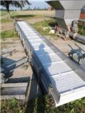 Rustfri transportbånd på hjul Længde 725 cm, Andere Landmaschinen