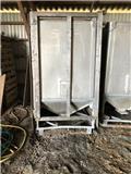 Fodersiloer i aluminium, Udstyr til aflæsning i silo
