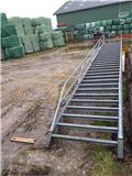 Stål trappe 6,50 meter høj, 80 cm bred og 19 cm tr, Andet - entreprenør
