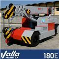 Valla 180E、2021、ミニクレーン