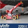 Valla 220SE、2021、ミニクレーン