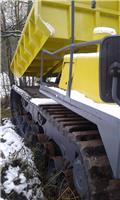 Yanmar C 120 R, 1999, Kamioni za prevoz smeća sa gusenicom