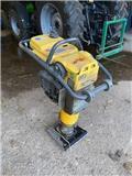Bomag BT 60, 2012, Placas compactadoras