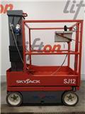 SkyJack SJ 12, 2011, Šķerveida pacēlāji