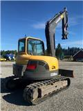 Volvo ECR 88 PLUS, 2013, Mini excavators  7t - 12t