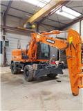 Doosan DX 140 W-3, 2013, Wheeled Excavators
