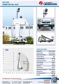 GSR E 179 T, 2013, Truck Mounted Aerial Platforms