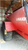 Livakka 16.5m3 Sivupk, aisajousitus, 2007, Slurry Tankers