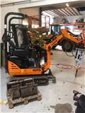 Hanix H 09 D, 2014, Mini Excavators <7t (Mini Diggers)