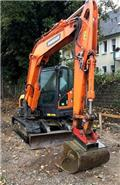 Doosan DX 85 R, 2016, Midi excavators  7t - 12t